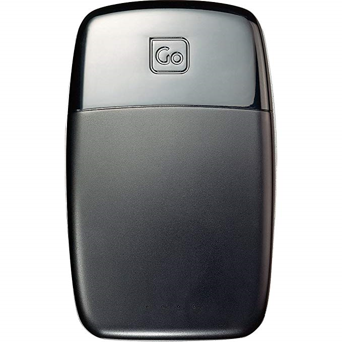 Image of GO TRAVEL POWER BANK 4000 BLACK for sale at Adventure Equipment Australia.